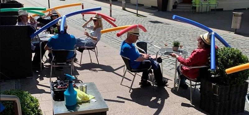 Távolságkalap segíti a felelős újranyitást Németországban