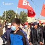 Óriási tüntetések robbantak ki Kirgizisztánban, miután az ellenzék nem jutott be a parlamentbe