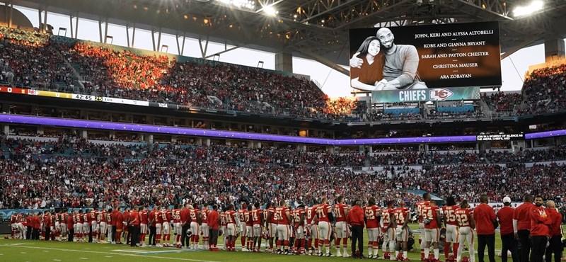 Kobe Bryant előtt tisztelegtek a Super Bowlon
