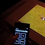 """Windows Phone + Kinect = látványos """"holografikus"""" játék az asztalon [videó]"""