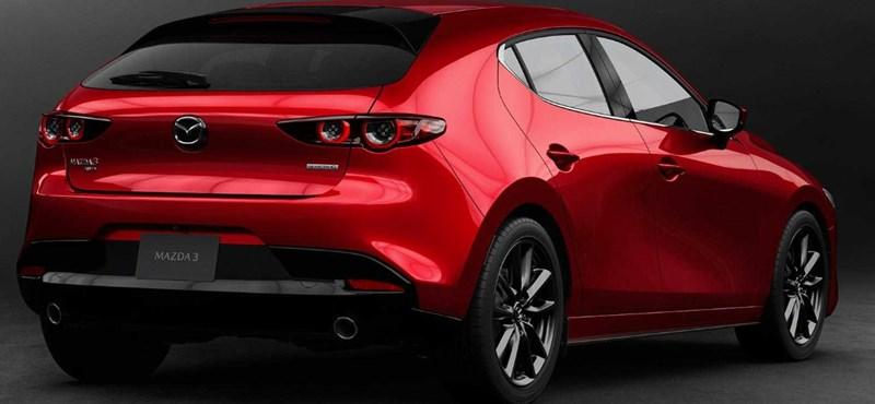 Itt az új Mazda 3, ami elmossa a határt a benzines és dízeles autók között