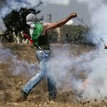 Az ENSZ-főtitkár látogatása közben lőtték Izraelt