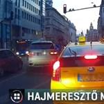 Elkapták a belvárosban ámokfutó BMW-st