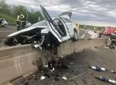 Képeken a baleset, amelyik az M6-os autópálya alagútjánál történt