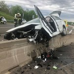 Képeken a baleset, ami az M6-os autópálya alagútjánál történt