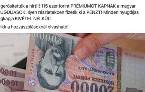 trükkös pénz a neten