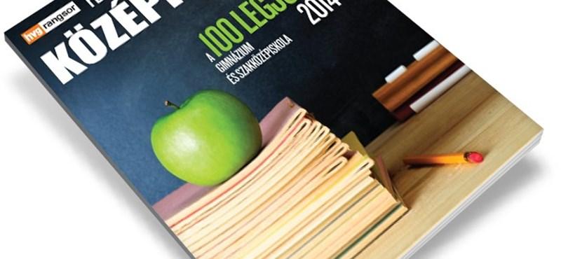 Középiskolai rangsor: a száz legjobb gimnázium és szakközépiskola