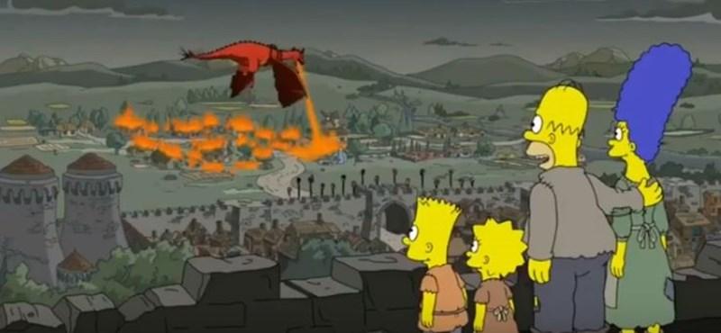 Hihetetlen: a Simpson család évekkel ezelőtt bemutatta, amit az előző Trónok harca részben láttunk