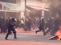 Összetűztek jobb- és baloldali tüntetők Portlandben