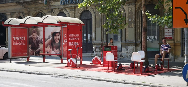 Buszmegálló tornaterem nyílt a belvárosban