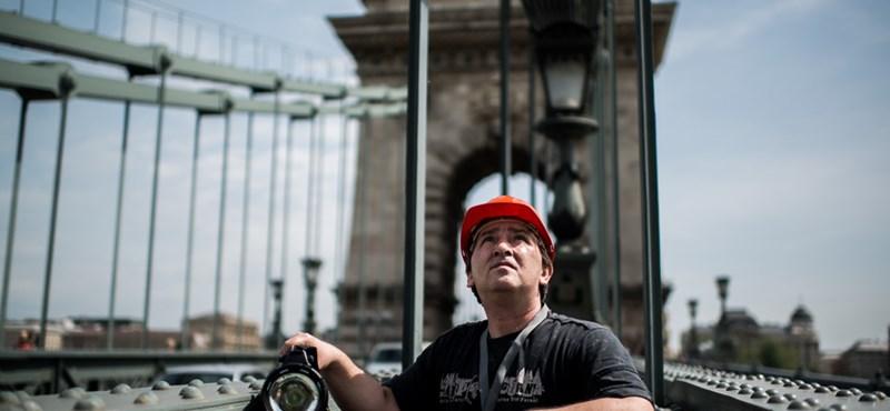 A Lánchíd titokőre vitt le minket Budapest gyomrába