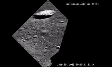 Ezt látta a holdra szállás közben Neil Armstrong – videó