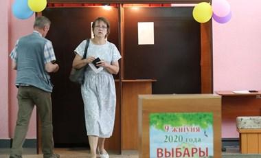 A fehéroroszok szavazatainak 98 százalékát Cihanouszkaja vihette Budapesten