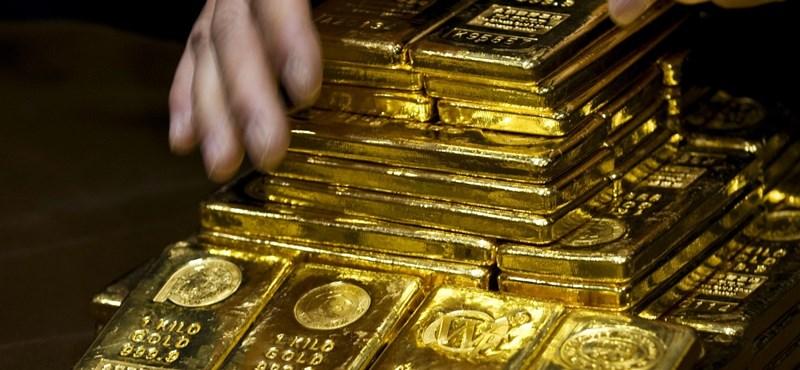 Vitték az aranyat a jegybankok, mint a cukrot