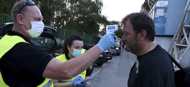 Újra megugrott a horvátországi fertőzöttek száma