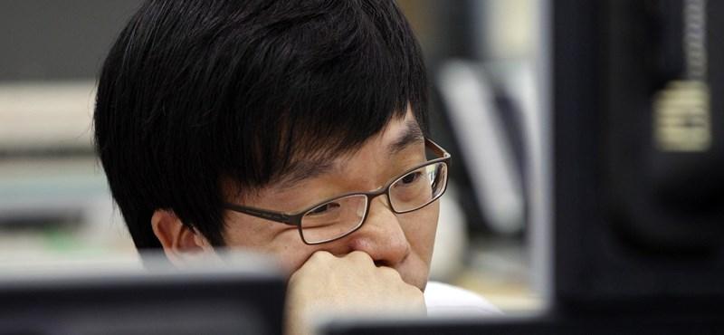 Az ázsiai tőzsdéket is aggasztja az adósságválság