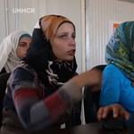 Csodát tenne a menekülttáborban a szíriai lány