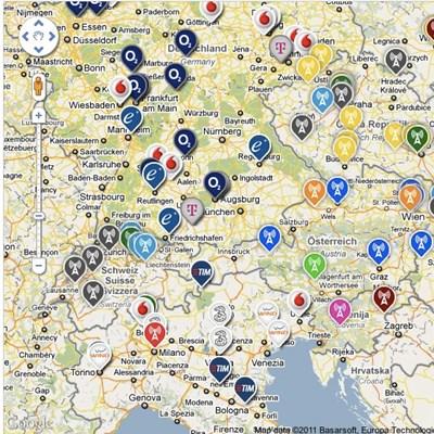 mobil adótorony térkép Tech: Mobil lefedettség: ütött az igazság órája   HVG.hu