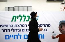Épp csak feloldották a járványügyi korlátozásokat Izraelben, máris elkezdték visszavezetni őket