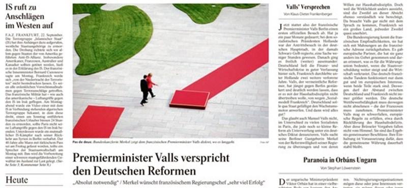 Orbán újra címlapra került Németországban