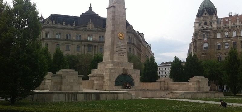 Alkotmánybíróság: Nem a szólásszabadság része festékkel leönteni a szovjet emlékművet