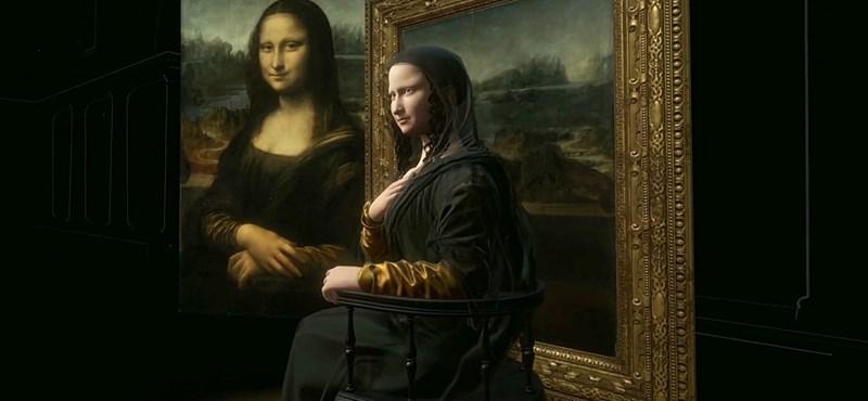 Életre keltették a Mona Lisát, a Louvre-ban még mozog is a legendás festmény