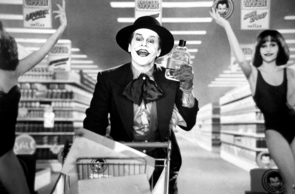 afp - Batman (1989) - Jack Nicholson Joker szerepében 1989-ben.