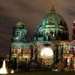 Ilyen, amikor egész Berlin fényben fürdik – fotók
