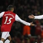 Egy félidős Arsenal-varázslat, de Milan-továbbjutás a BL-ben