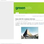 Zöld focivébét akar Katar rendezni