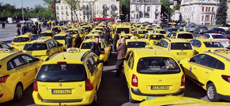 Hihetetlen közvélemény-kutatással bizonyítják a taxisok, hogy az emberek tarifaemelést akarnak