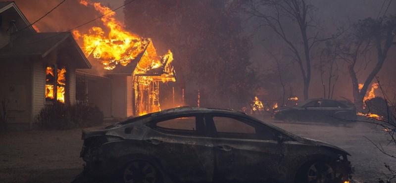 Malibut is evakuálják a Kaliforniában tomboló tűzvész miatt - fotók