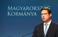 Gulyás arra utalt, a Fidesz belebukna, ha nagyot drágulna a rezsi