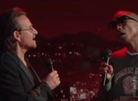 Így még biztos nem hallotta a Bee Gees diszkóslágerét – Bono és Pharell duója