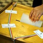 Választás 2014: hétfőtől már élesben megy