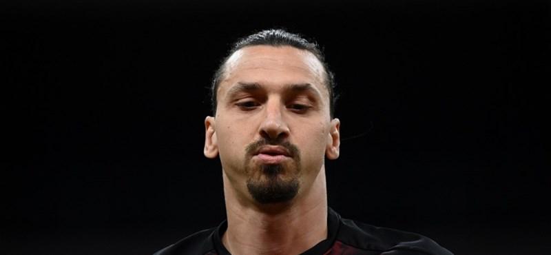 Ibrahimovic fejbe találta az ellenfelét, de az utána következő poén még jobban fájhatott