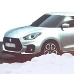 Kiszivárgott: ilyen lesz az új sportos esztergomi Suzuki