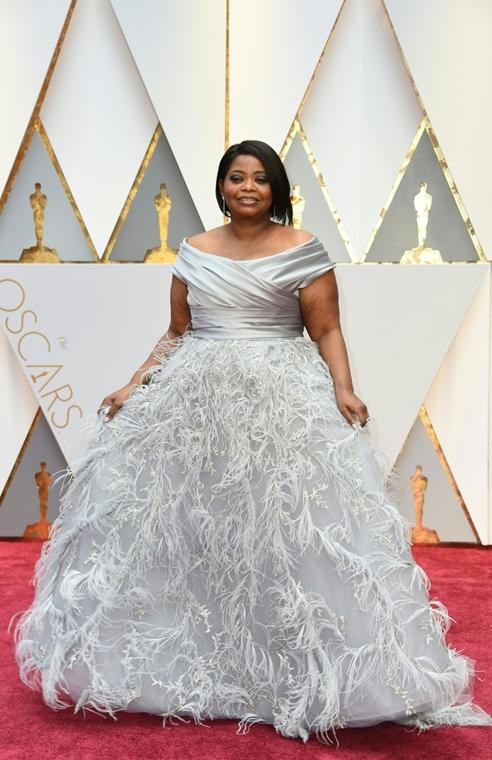 afp.17.02.27. - Hollywood, USA: 89. Oscar-díj - érkezés - Octavia Spencer - Oscar-díj 2017