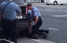 Új testkamerás videó került elő George Floyd haláláról