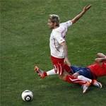 Kiállítás után Chile legyőzte a rekordot döntő Svájcot