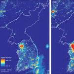 Erről az egy térképről kiderül, mennyire szegény Észak-Korea