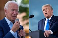 A járványról, a választás tisztaságáról, és arról vitázott Trump Bidennel, hogy melyikük tartja butábbnak a másikat