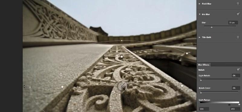 Photoshop CS6: ilyen lesz a Blur Gallery [videó]