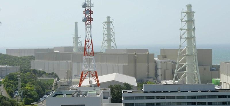 Földrengésgyanú miatt leállítanak egy atomerőművet Japánban