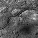 Rejtélyes dolgokat találtak a Ceres kisbolygó felszínén