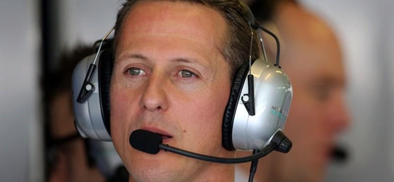 Menedzser: Az ébredés jeleit mutatja Michael Schumacher