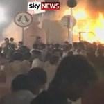 Videó: gyászmenetben robbantottak