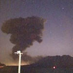 Félelmetes felvétel a japán vulkánkitörésről - videó