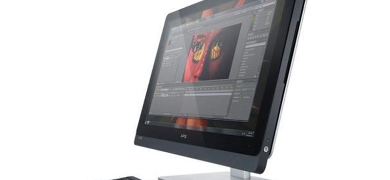 Új iMac kihívó: érkezik a Dell XPS One 27!