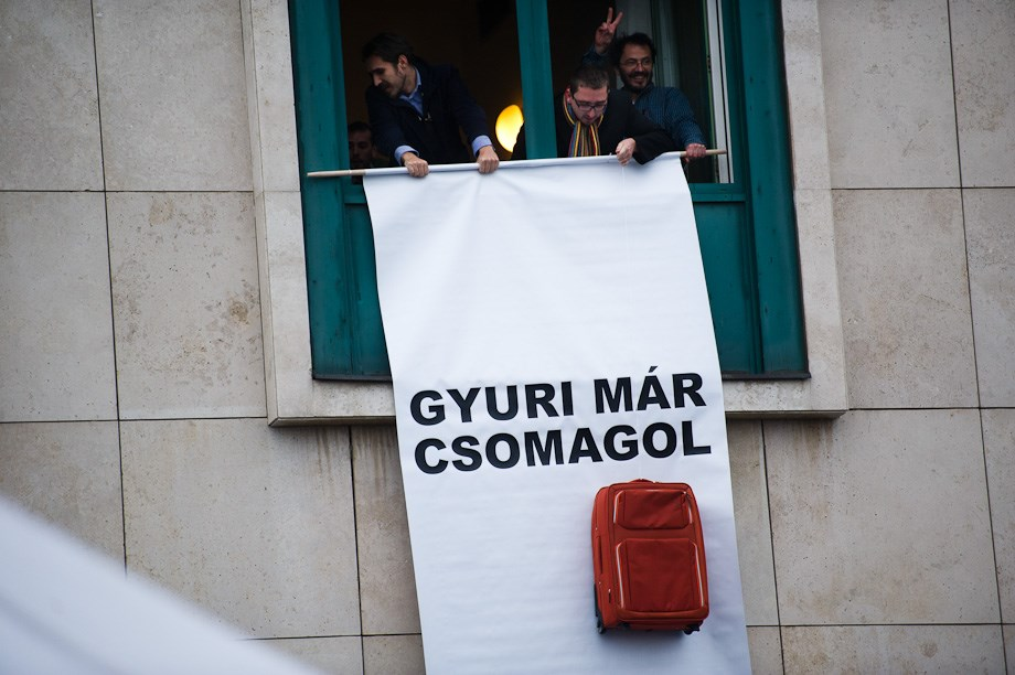 Egymást érték a tüntetések Budapesten - Nagyítás-fotógaléria